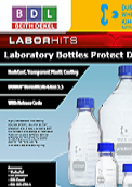 BDL Newsletter labortory bottles Protect from Duran®.