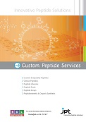 BDL Newsletter Custom peptide synthesis